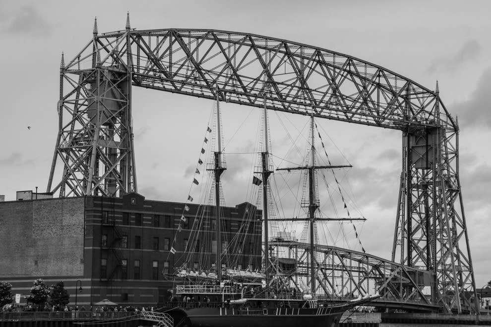 The Peacemaker at the Duluth Aerial Lift Bridge