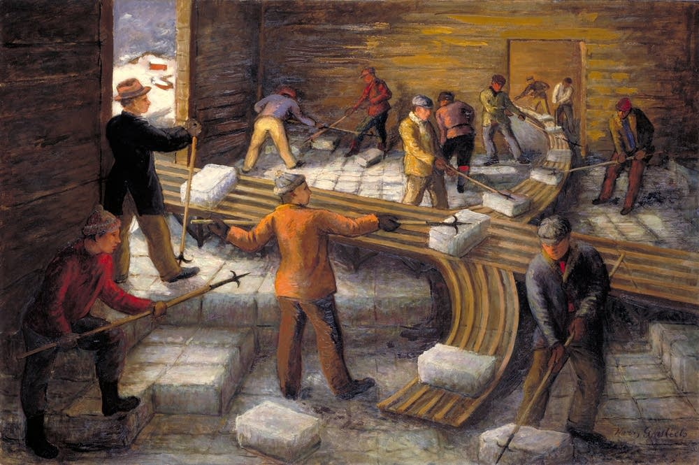 'Filling the Ice House'