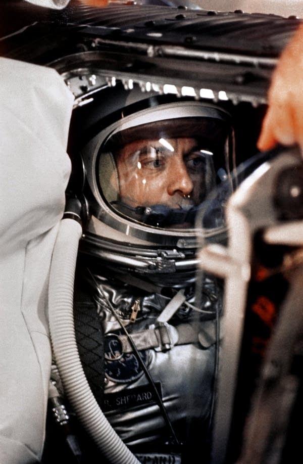Astronaut Alan B. Shepard, Jr., May 5, 1961