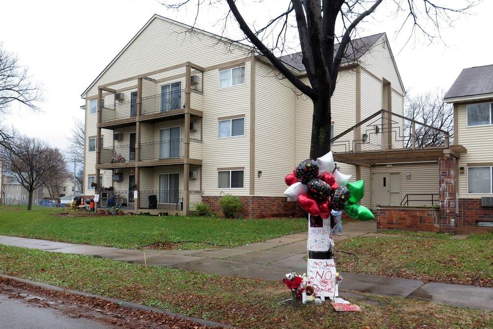Scene of Jamar Clark shooting