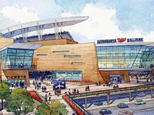 The new stadium