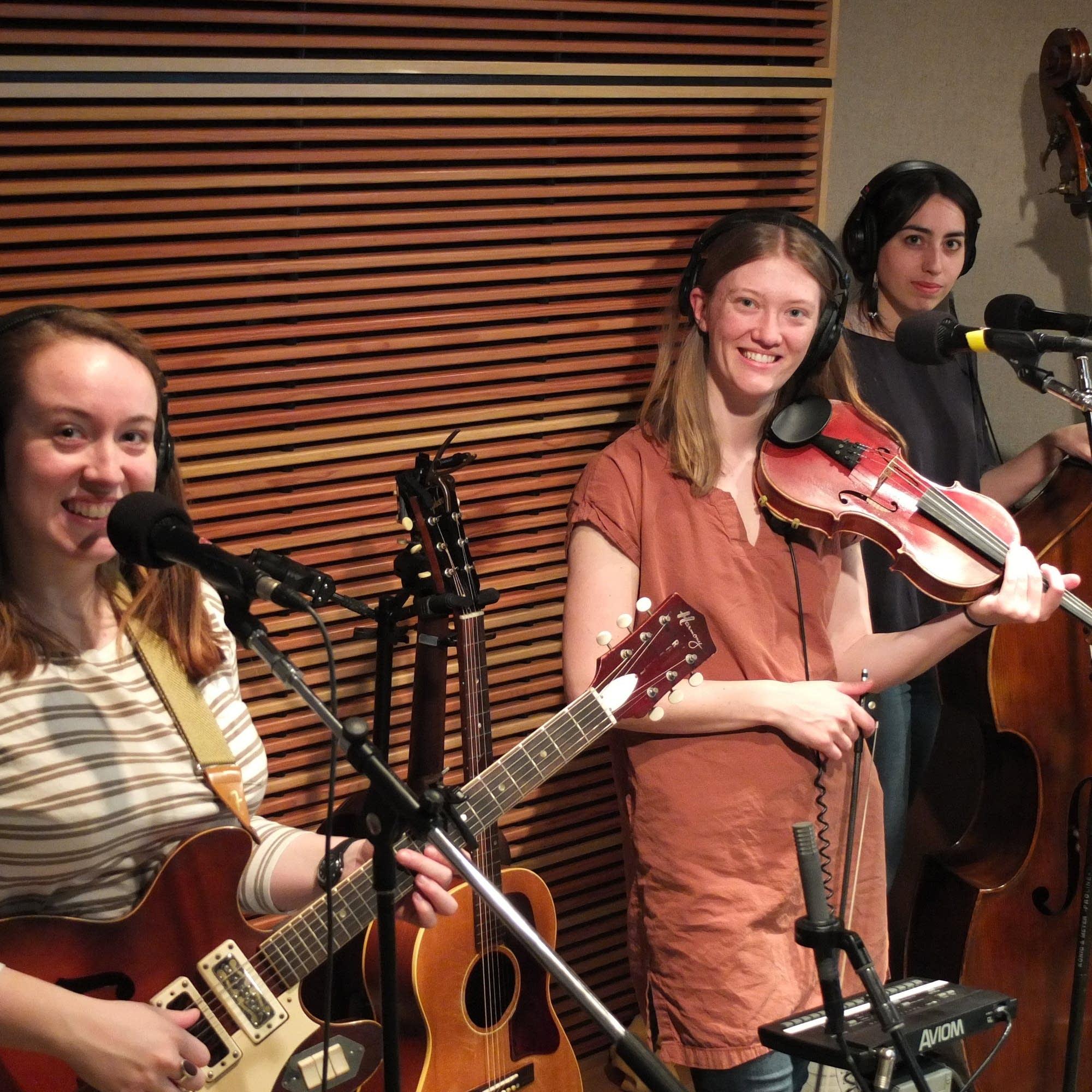 Lula Wiles perform in the Radio Heartland studio