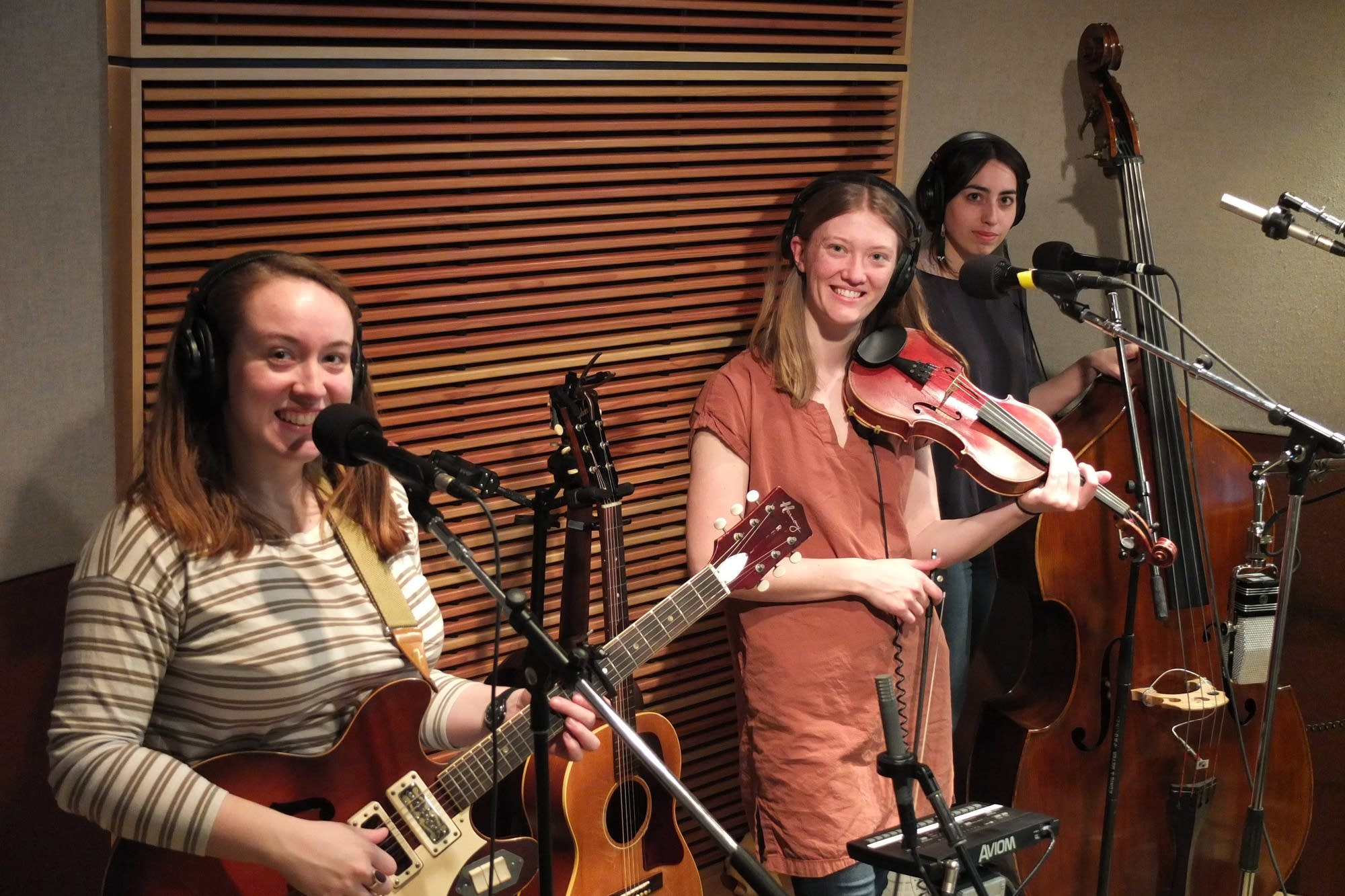 Lula Wiles perform in the Radio Heartland studio