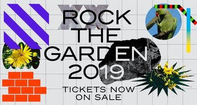 Rock the Garden Tickets Now on sale