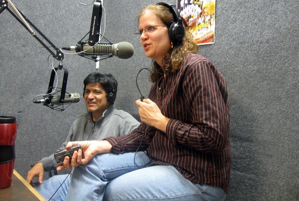 Attorney Mary Baquero and Richard Baquero
