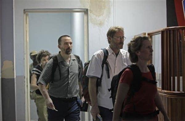 Corinna Lankford, Steve McMullin, Paul Thompson