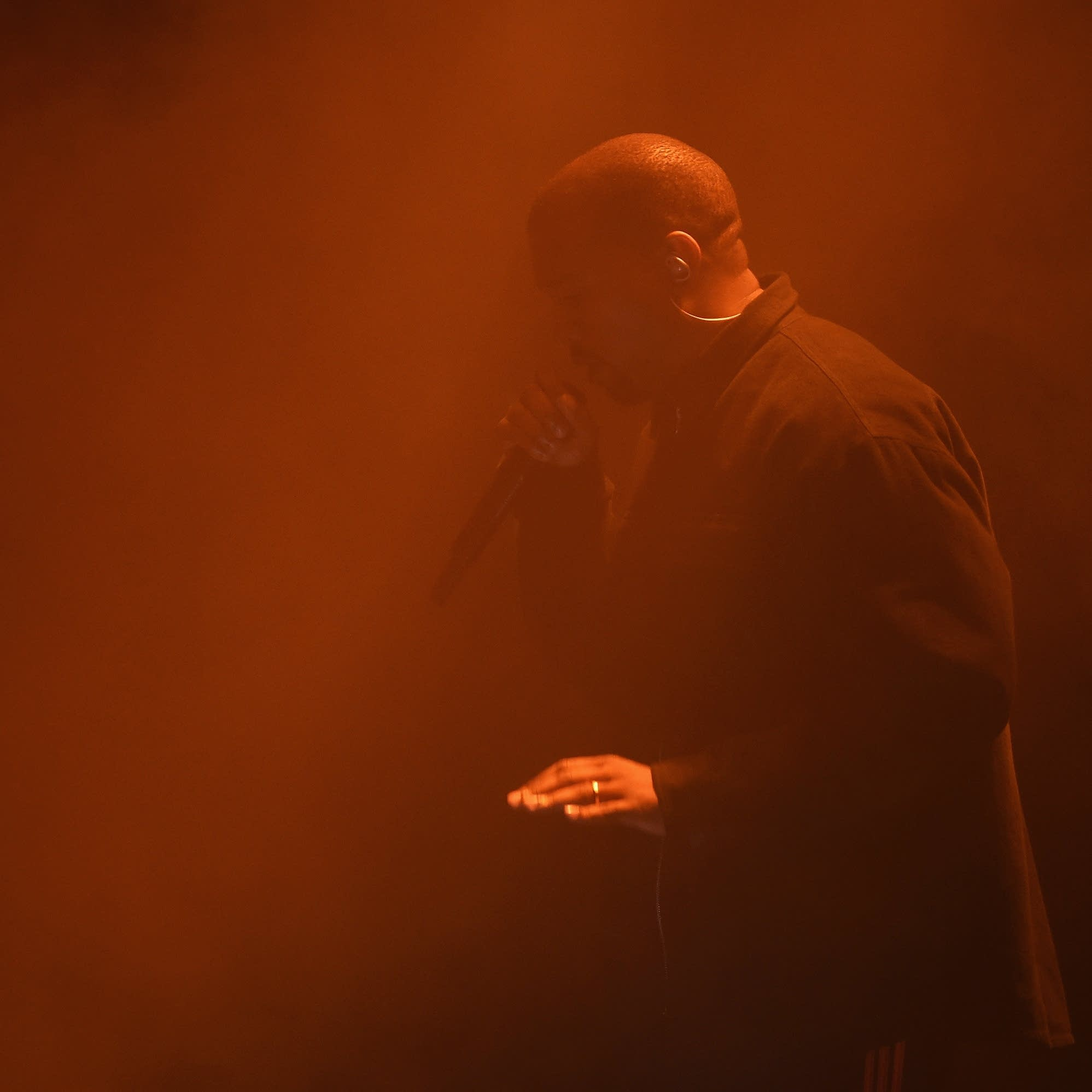 Kanye West performs in New York in 2016.