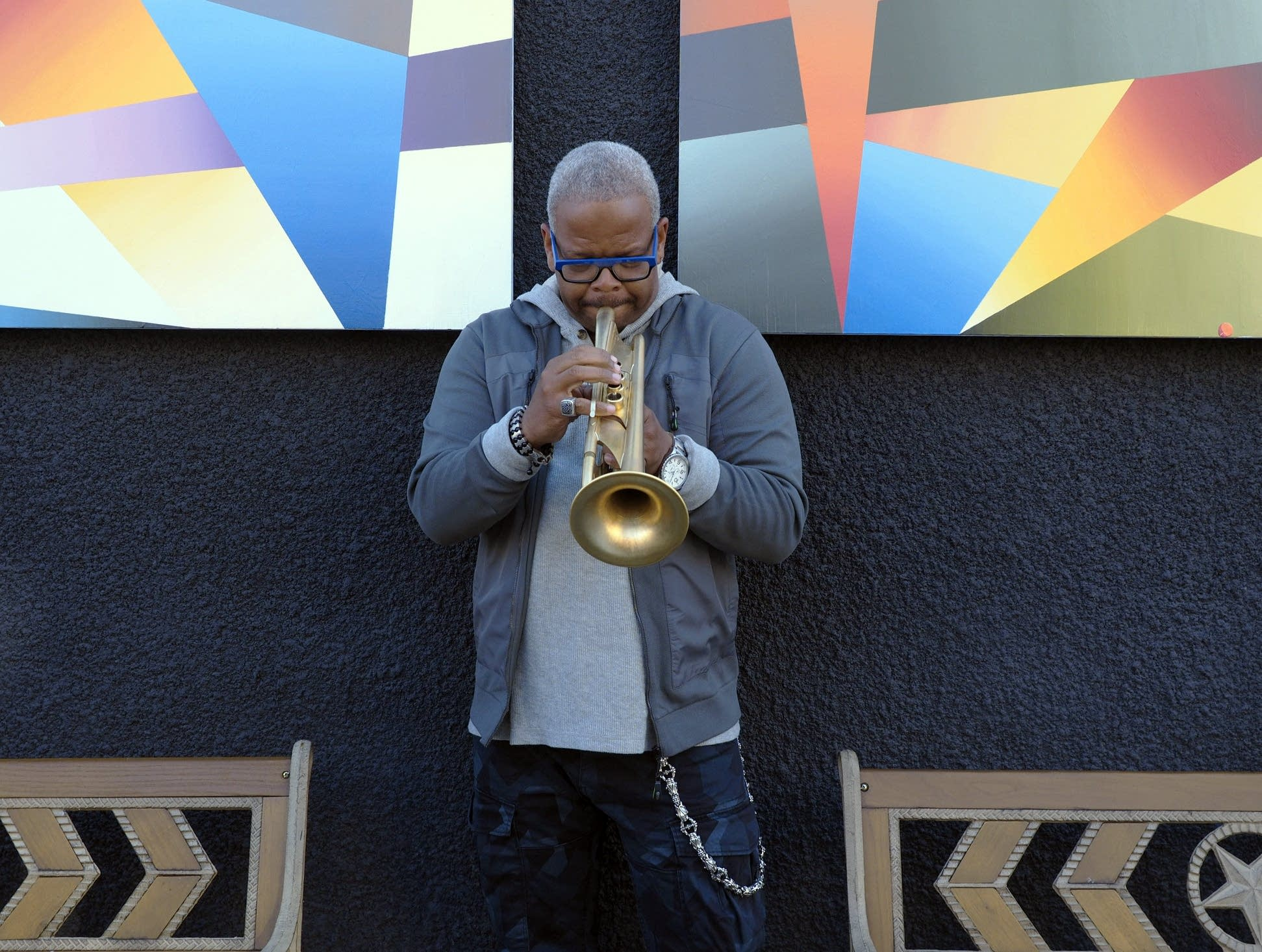 Jazz trumpeter Terence Blanchard