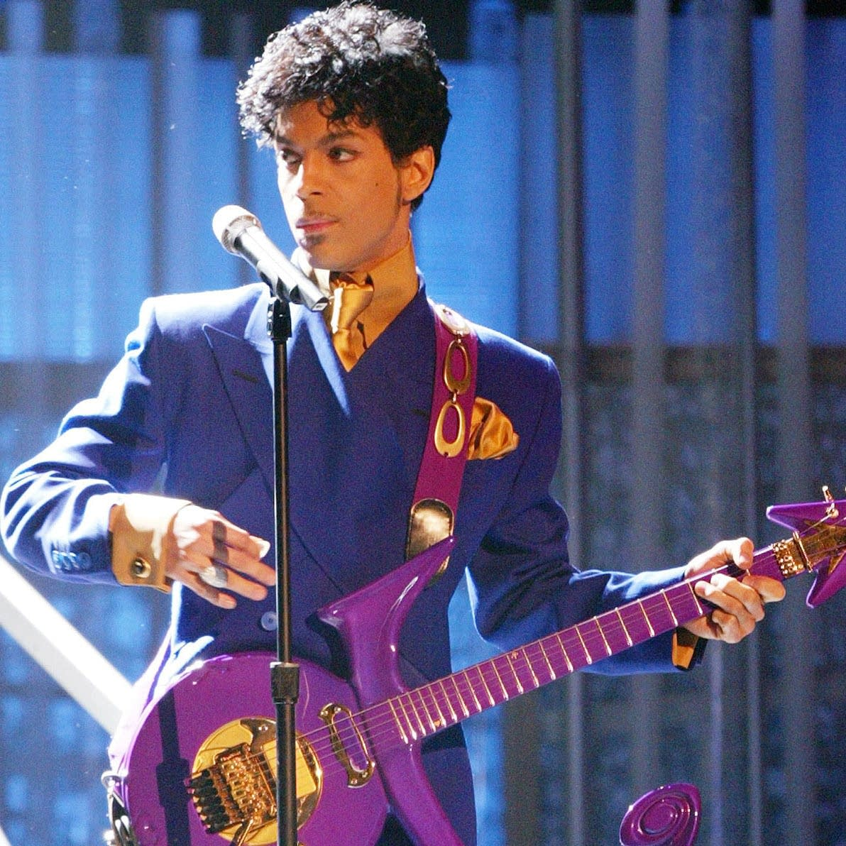 Prince at 46th Annual Grammy Awards