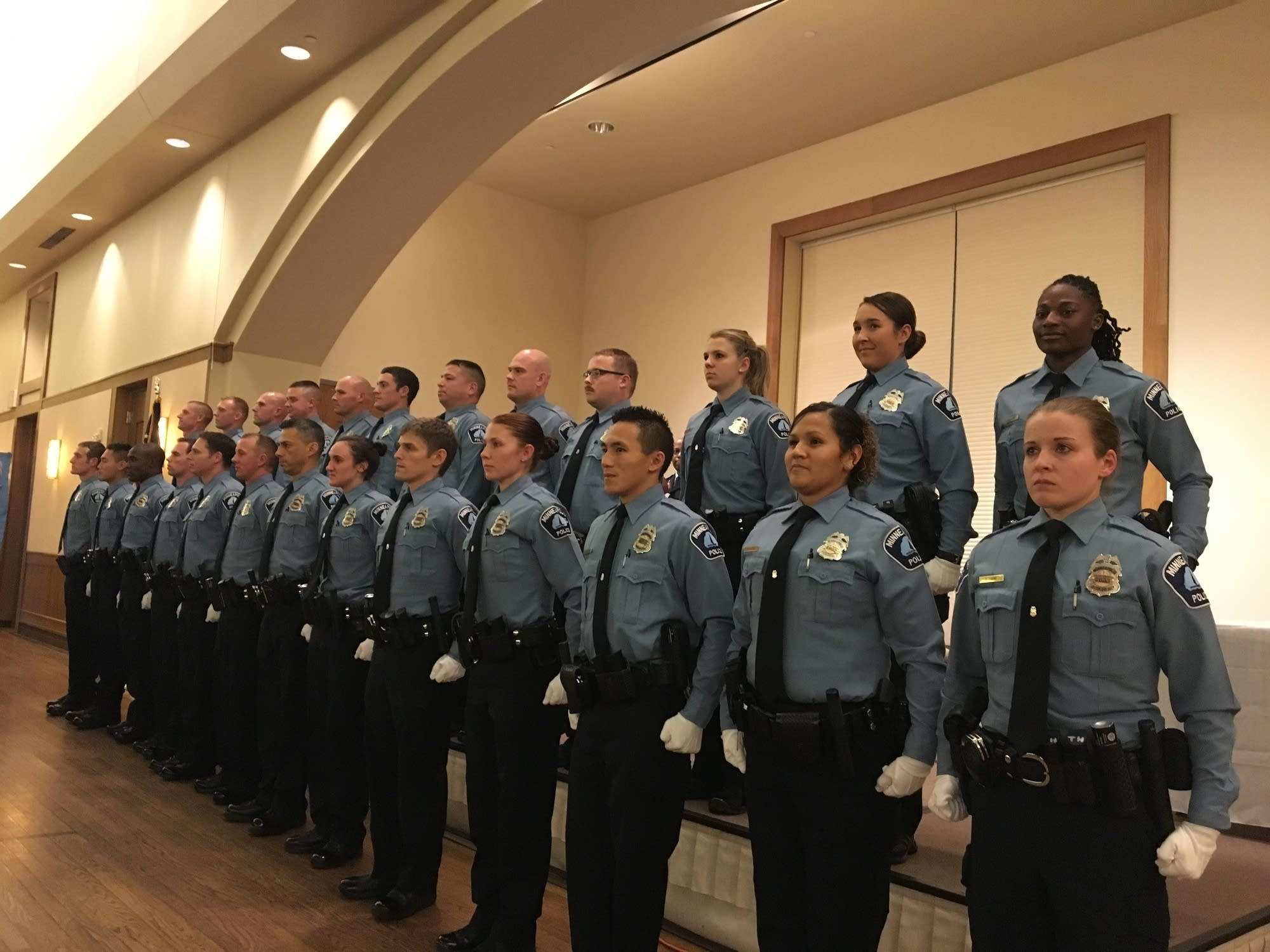New Minneapolis police officers sworn in