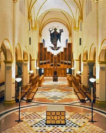 1997 Goulding & Wood organ at the Saint Meinrad Archabbey, Indiana