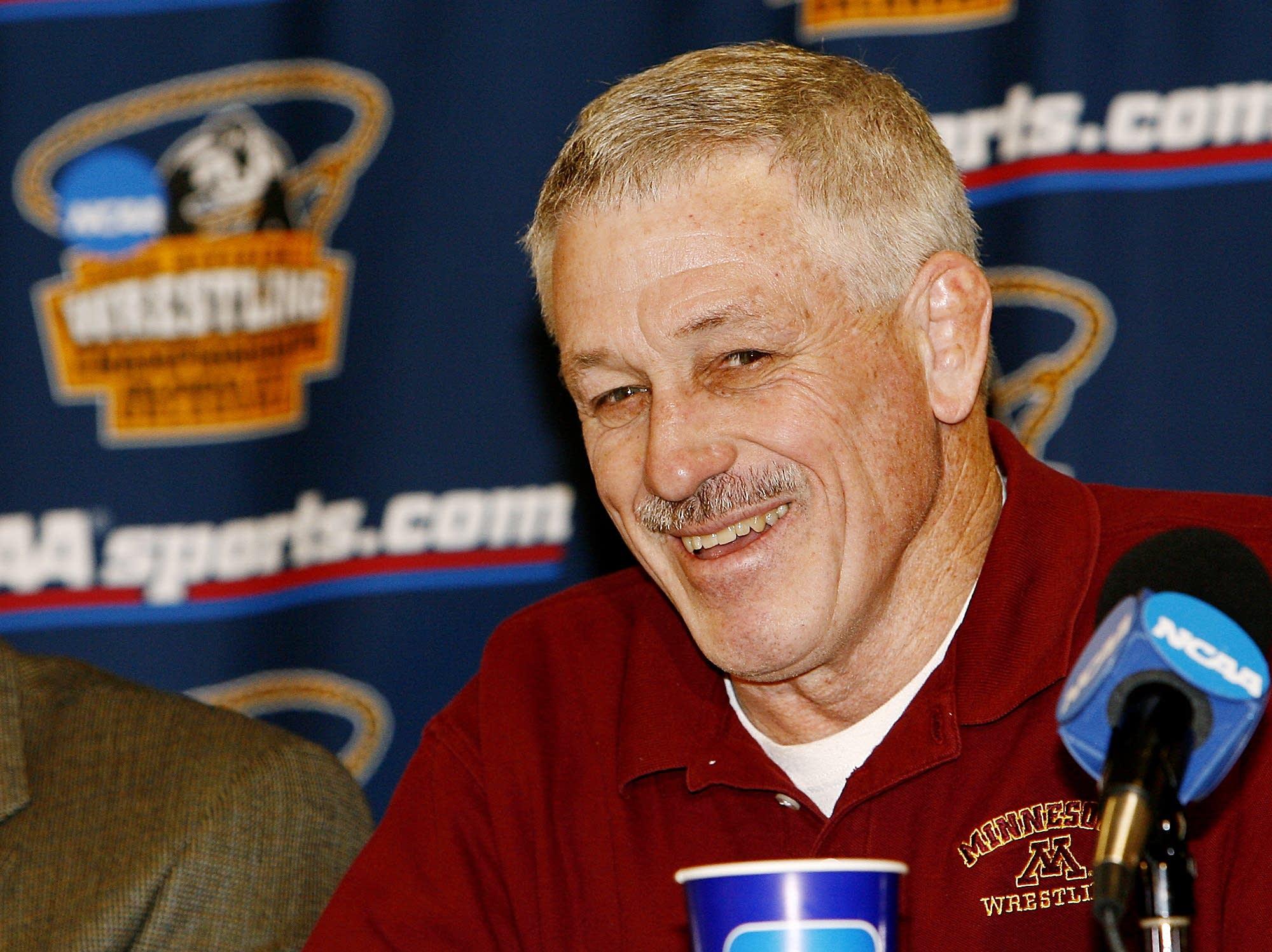 Minnesota coach J Robinson in 2006.