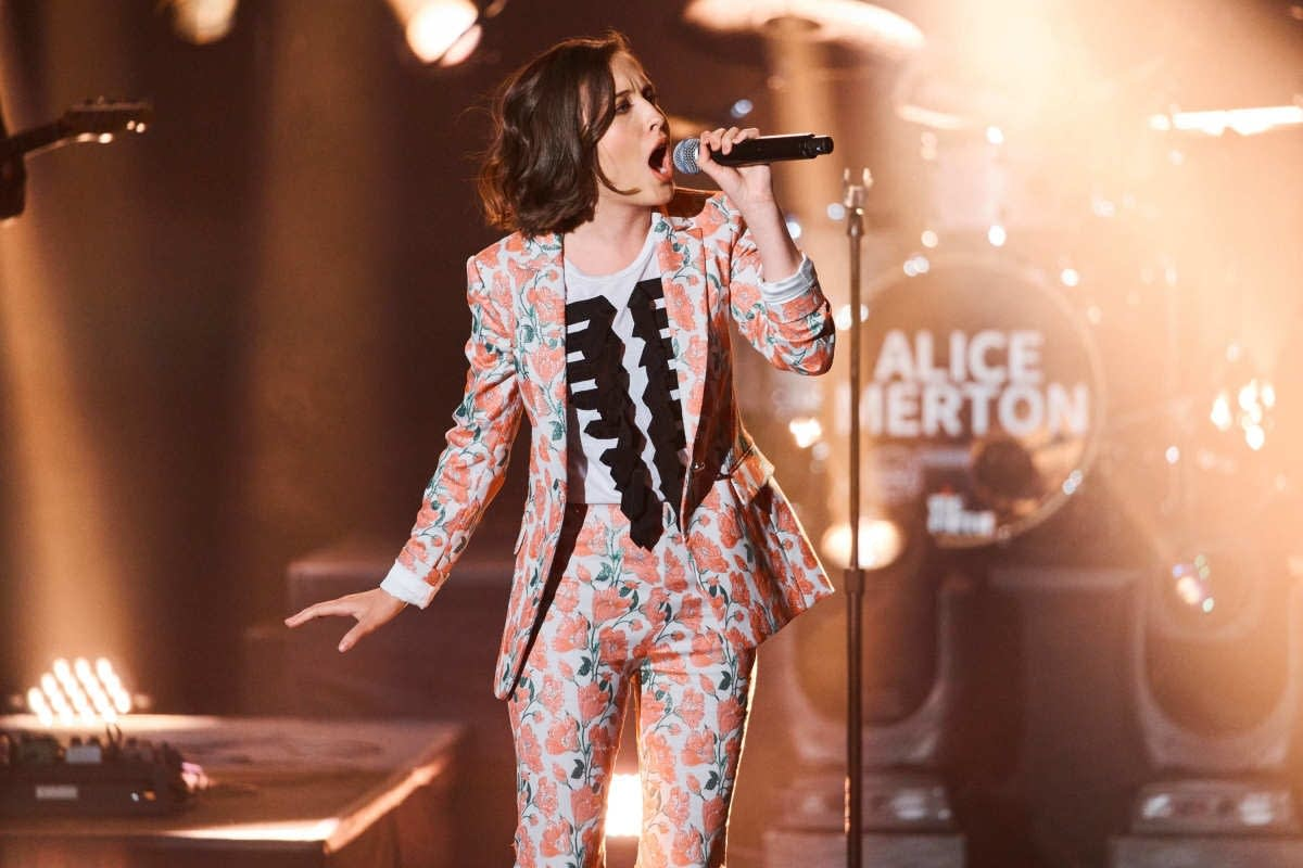 Alice Merton on 'The Late Late Show with James Corden'