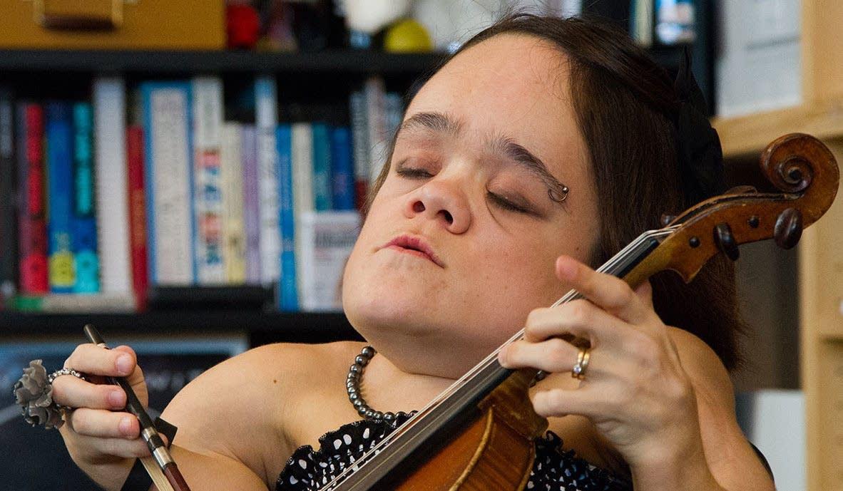 Gaelynn Lea, winner of NPR's Tiny Desk Contest