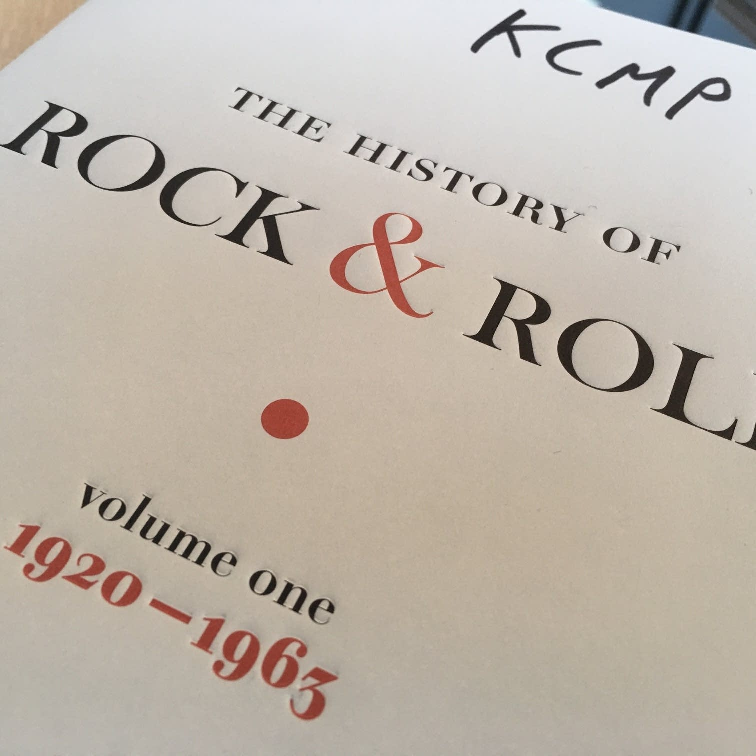 Ed Ward's 'History of Rock & Roll, Volume One'