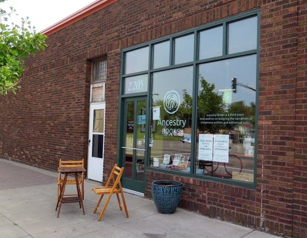 Ancestry Books, the only bookstore in north Mpls.