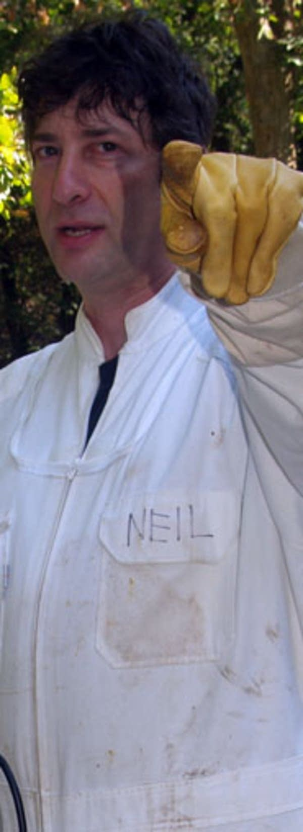 Neil pointing