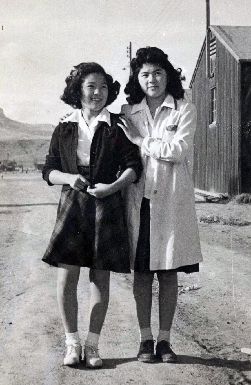 Judy (Hayano) Tabata and sister Hannah (Hayano) Semba