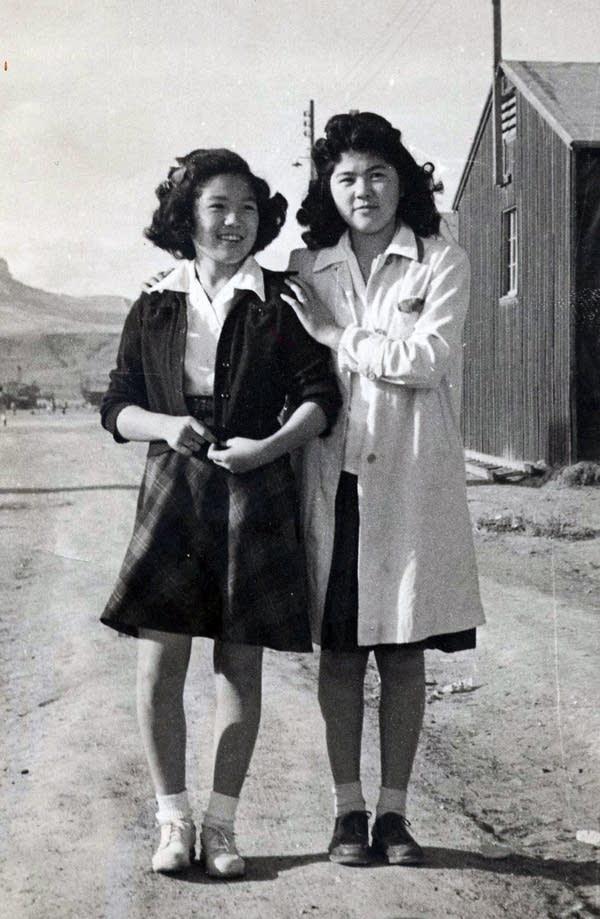 Hannah Semba and Judy Tabata