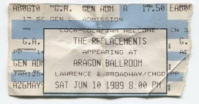 893034 20130912 replacements ticket aragon ballroom chicago 89