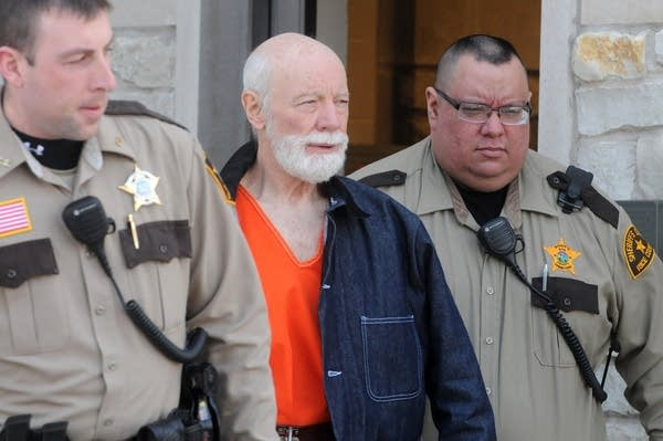 Lynn Seibel escorted from Rice County Courthouse