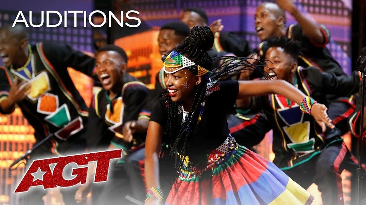 Ndlovu Youth Choir auditioned for America's Got Talent