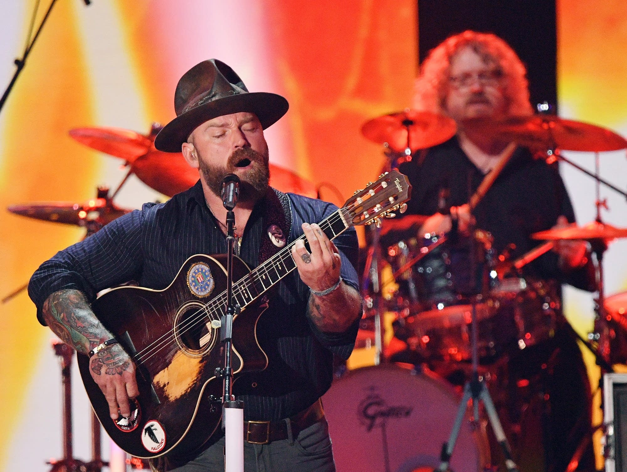 Zac Brown performs for 2019 CMT Music Awards