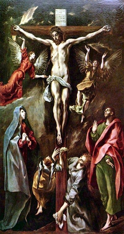El Greco's The Crucifixion 1596-1600