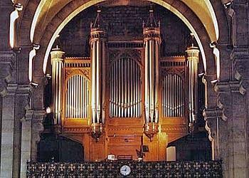 1855 Cavaillé-Coll organ at Notre Dame d'Auteuil, Paris, France