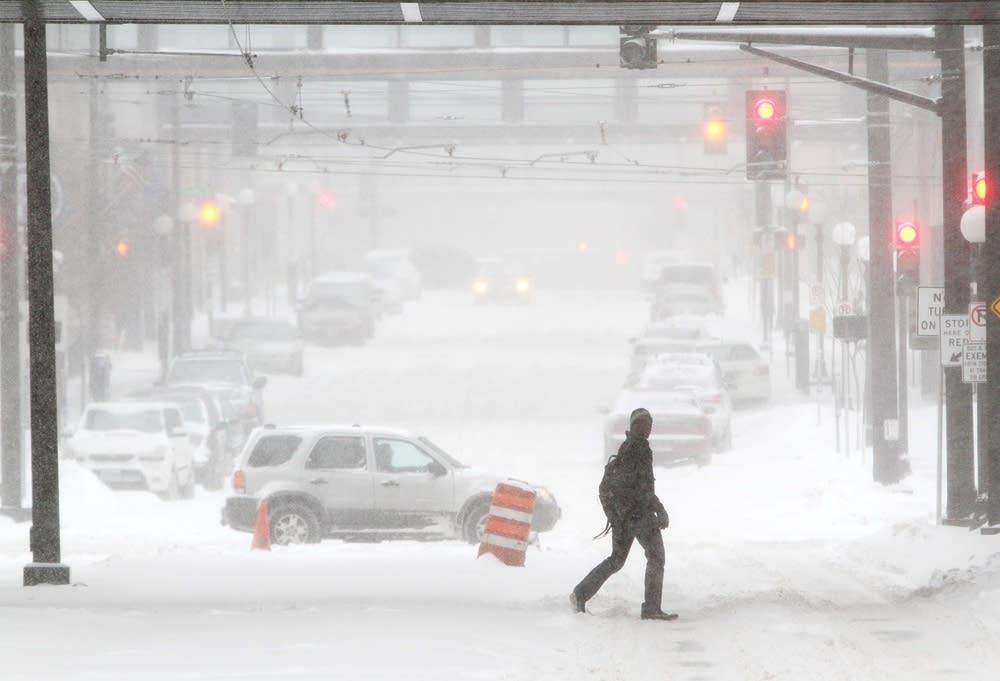 Snowy St. Paul