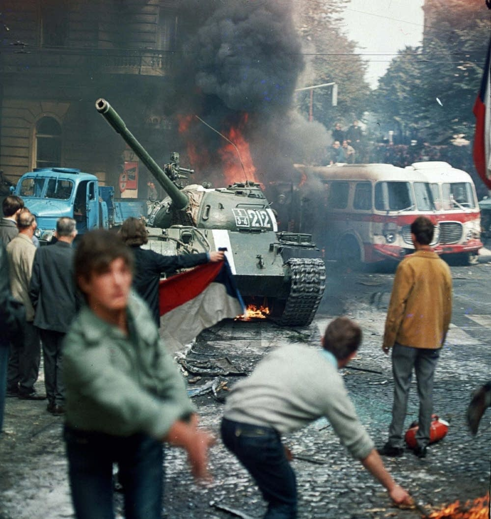 Unrest in Prague, 1968