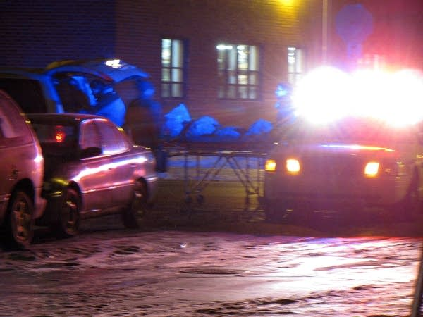 Body removed from scene of slaying