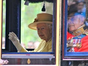 HRH Queen Elizabeth II and the Duke of Edinburgh