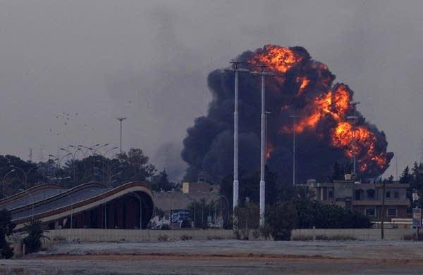 Explosion in Libya