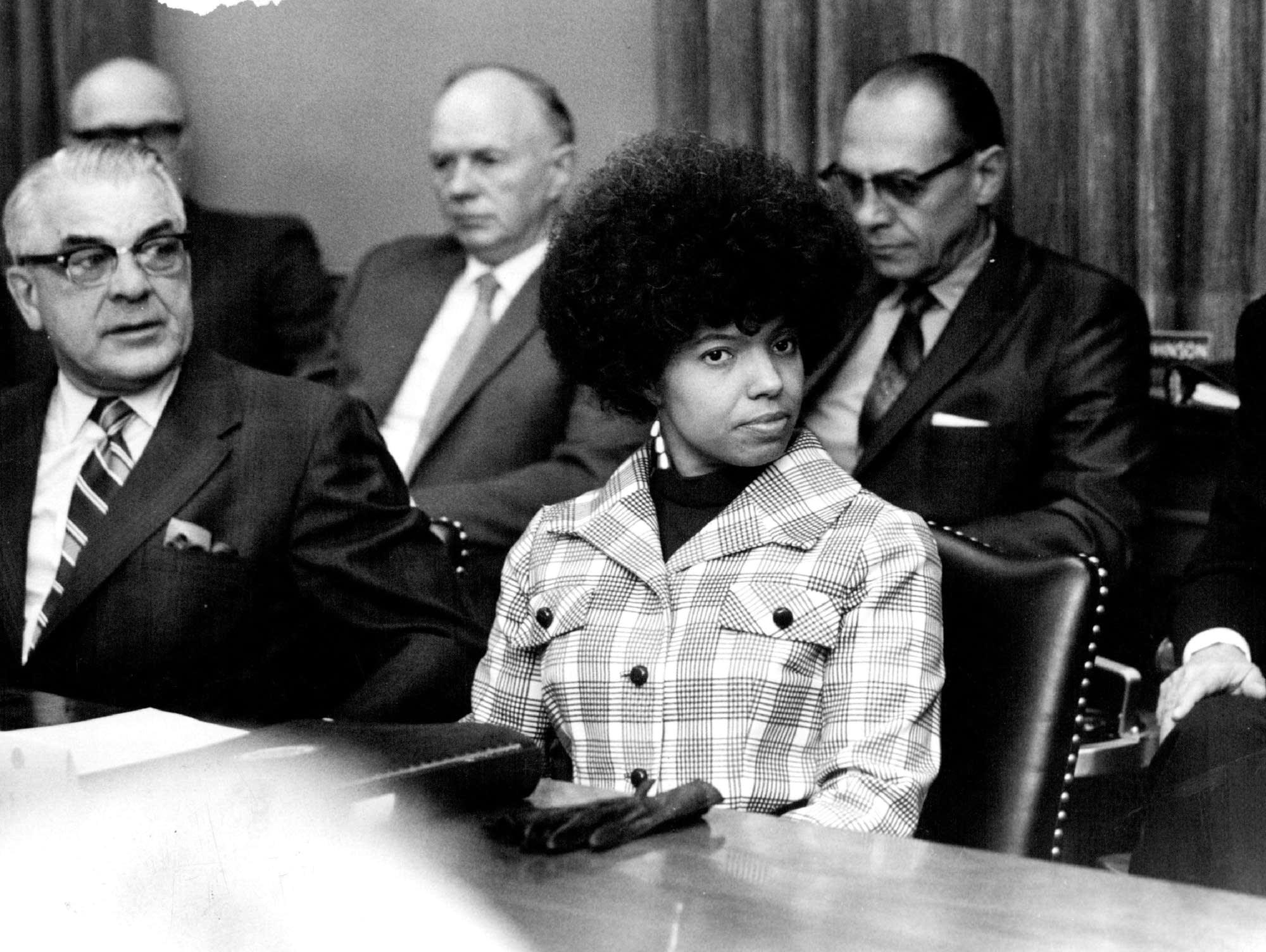 Josie Johnson was the first black regent at U of M in 1971.