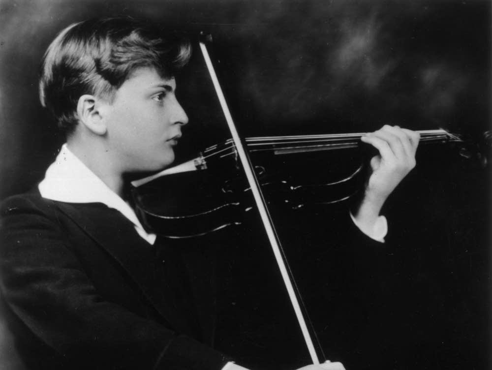 Yehudi Menuhin as a youngster
