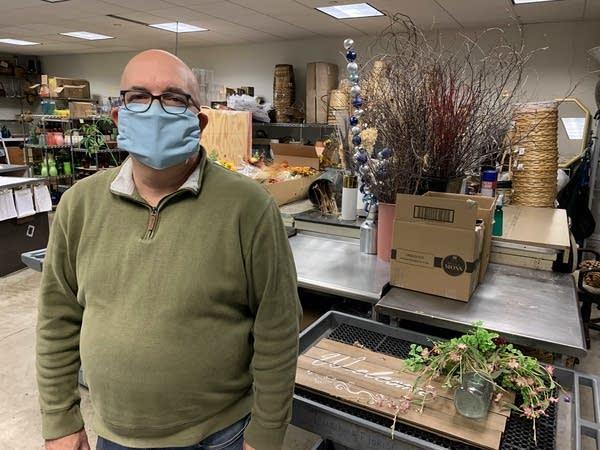 Bill Junco is the owner of Lindskoog Florist.