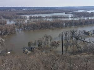 Spring flooding in Red Wing, 2019