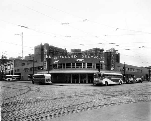 Northland-Greyhound bus depot