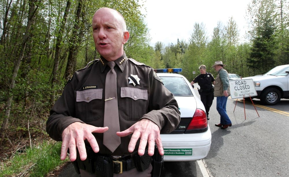 King County Sheriff Steve Strachan