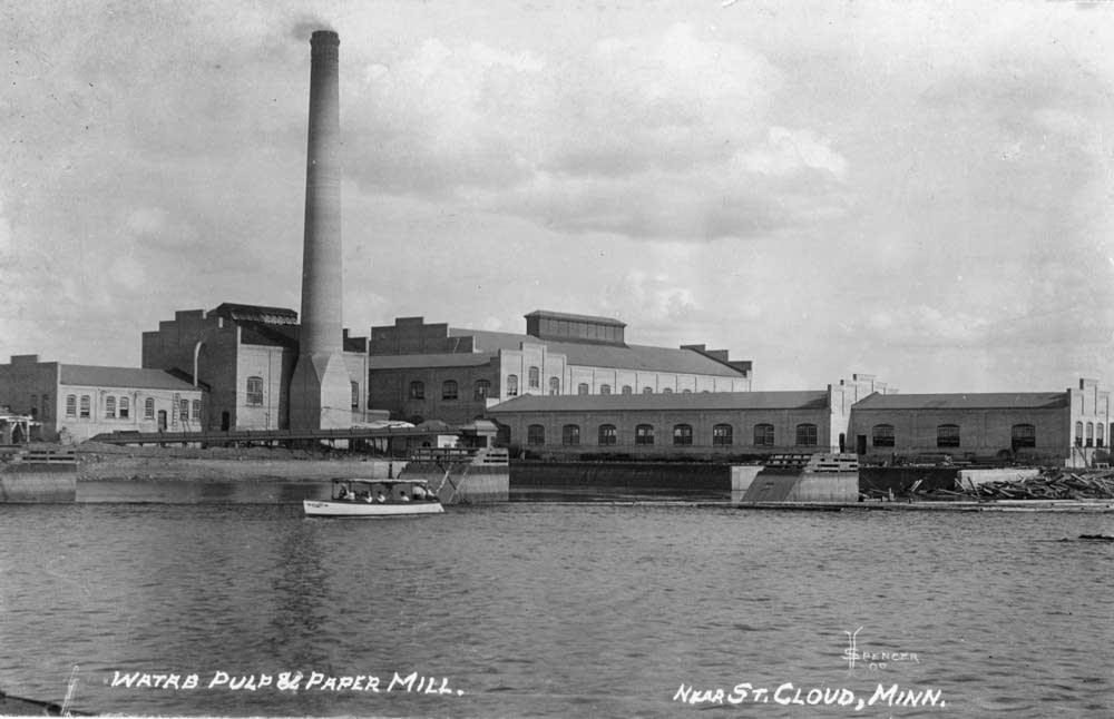 Watab paper mill