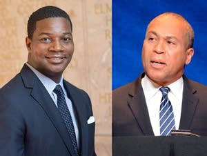 Rev. Dr. Jonathan Walton and Deval Patrick