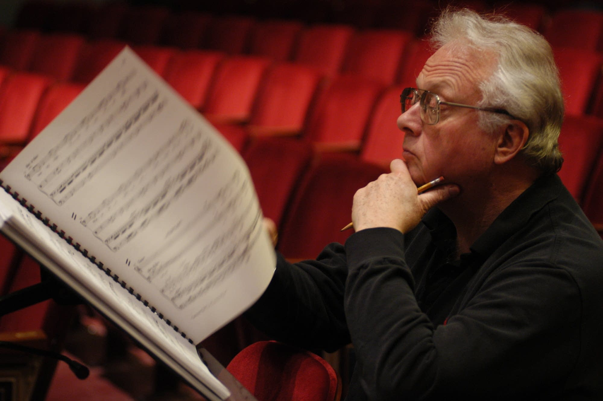 Composer William Bolcom