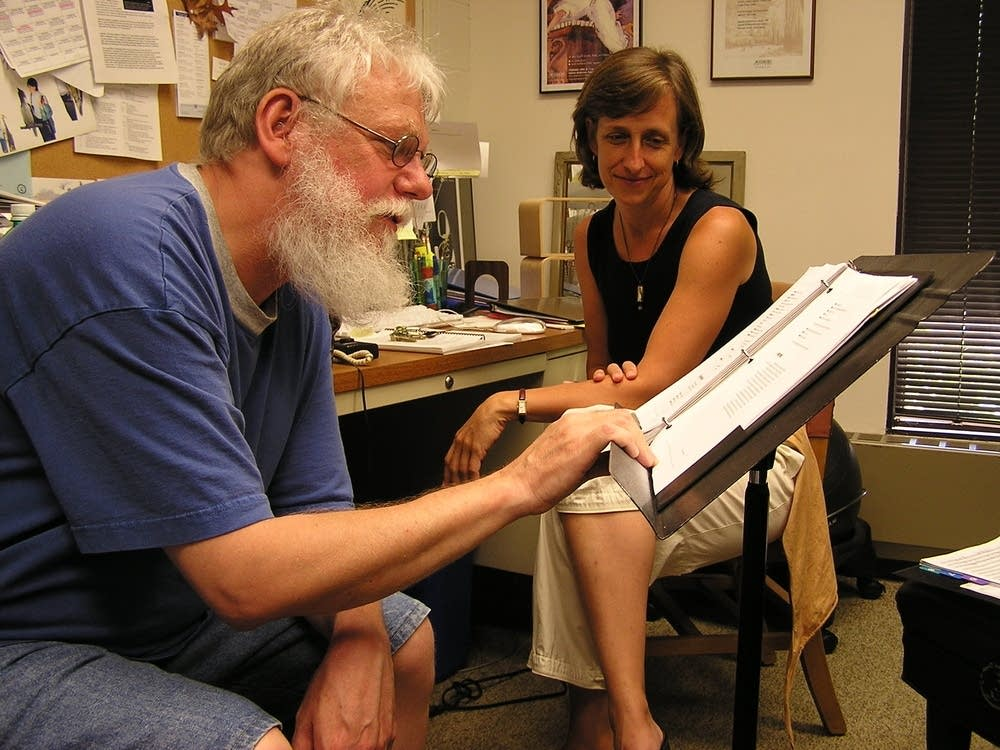 Ben Krywosz and Jill Dawe
