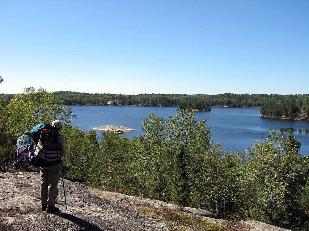 Peary Lake in Voyageurs National Park