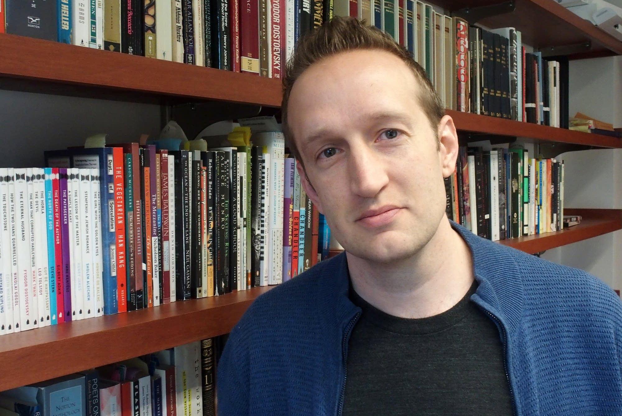Macalester College professor Peter Bognanni