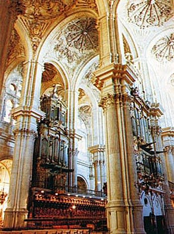 1782 Orden organ at Malaga Cathedral