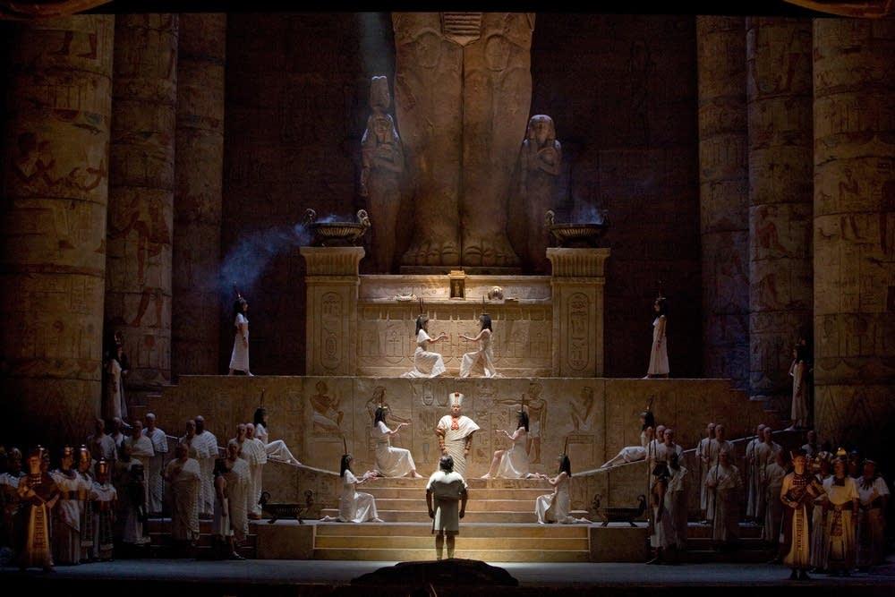 A scene from Verdi's
