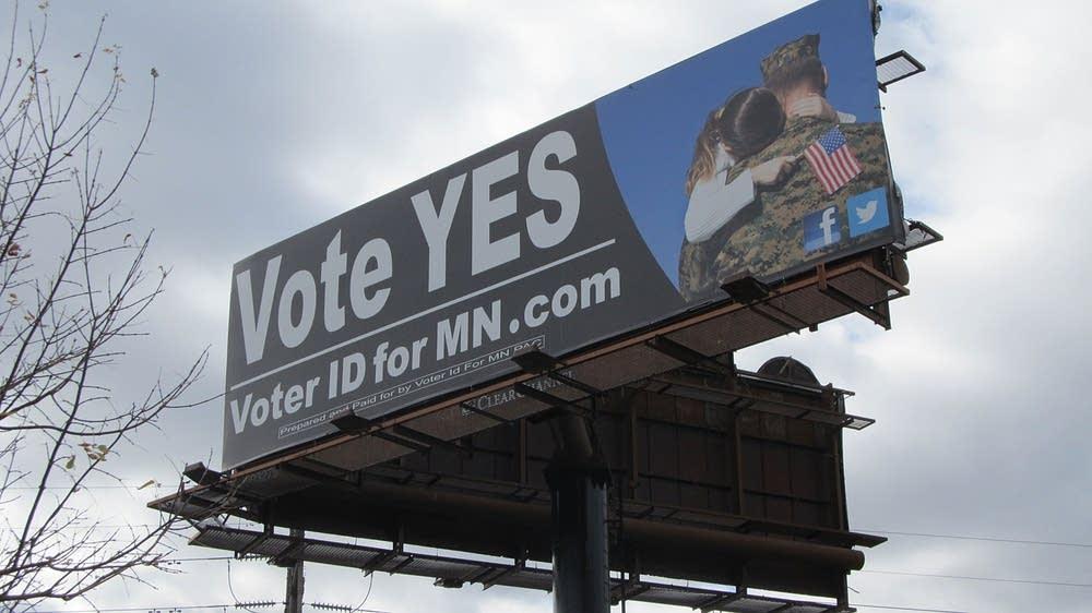 Pro-amendment billboard