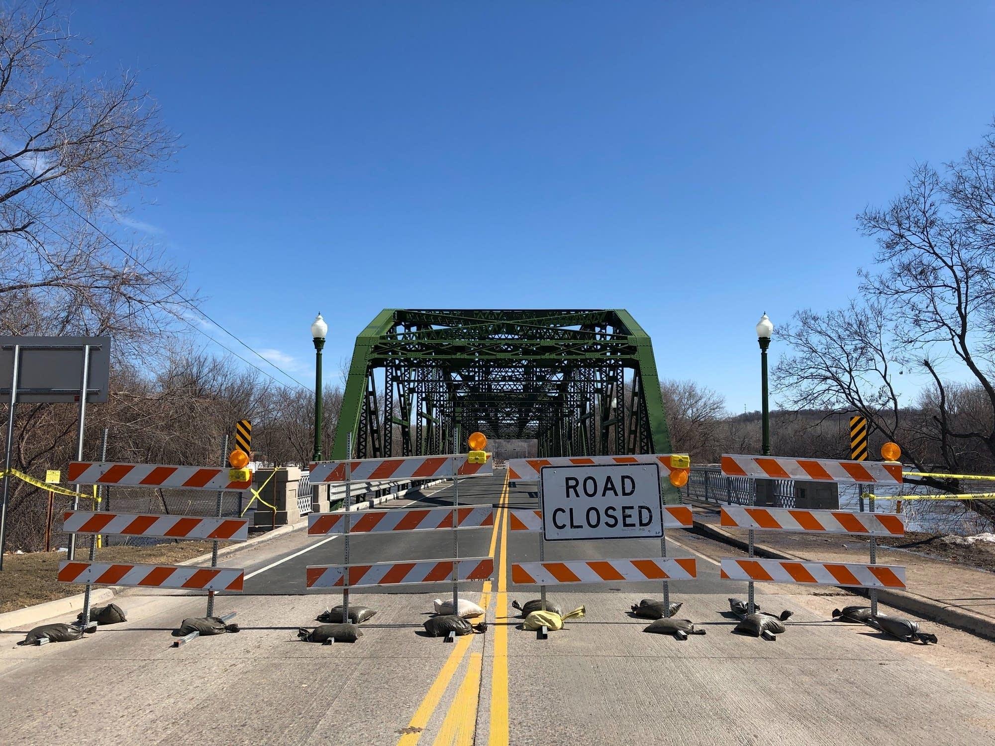Highway 99 bridge over Minnesota River